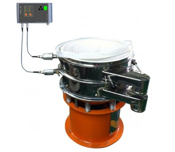 Big Ultrasonic anti-blinding Vibrating Screen (HiU-NX-S4S4) for processing chemicals