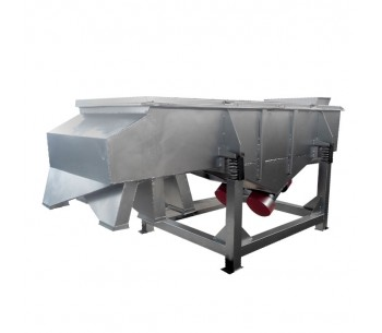 Powder Painting Slide Linear Vibrating screen supplier